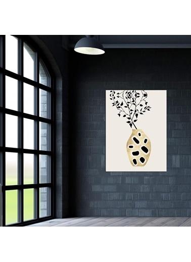 Chic Life Chic Life Vazo Kanvas Tablo-50*70 cm Renkli